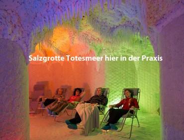 """Salzgrotte """"Totes Meer"""""""