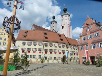 Fuchsienstadt Wemding - Malerisches Altmühltal